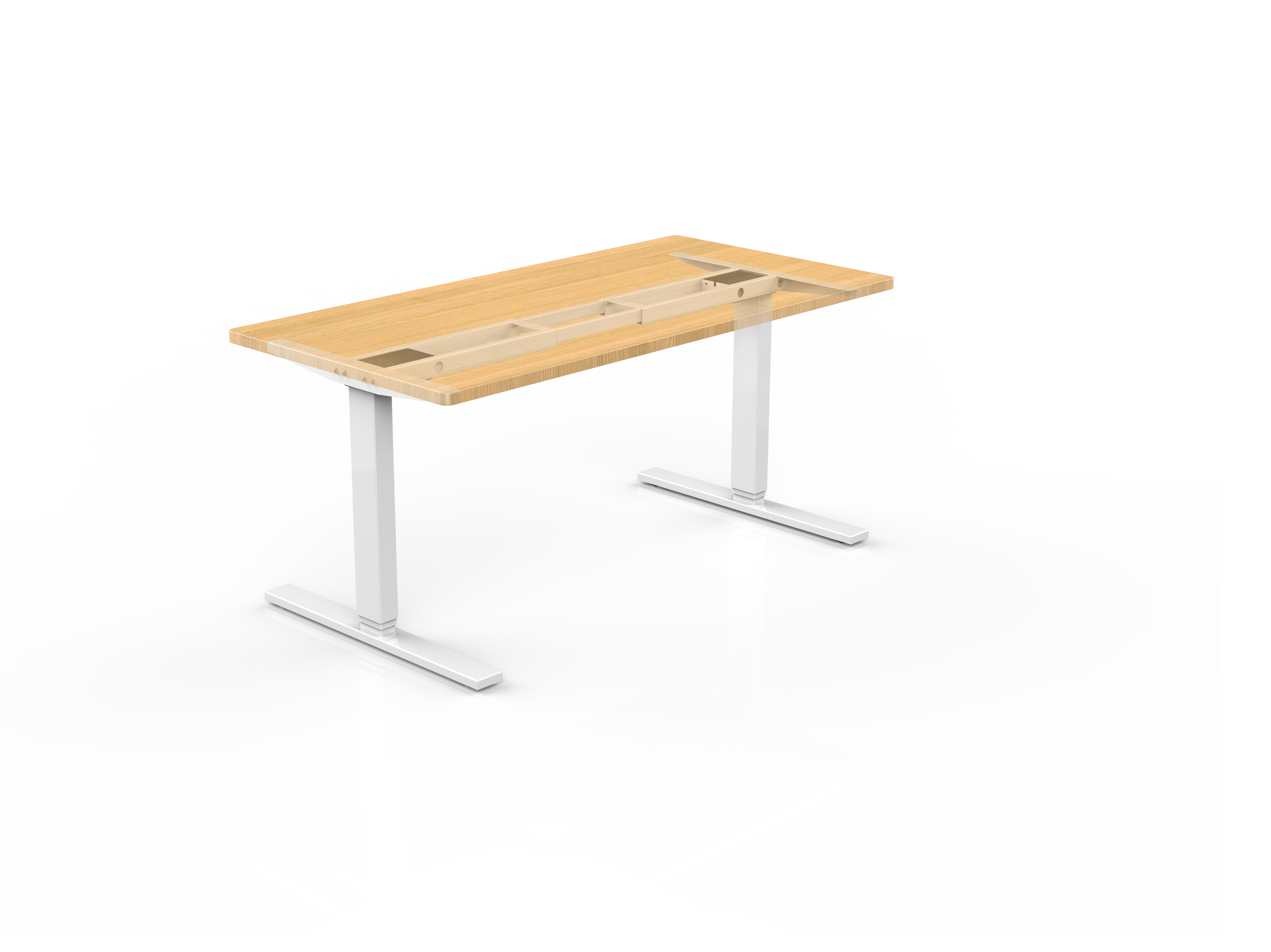 sit stand desk bh-23rr