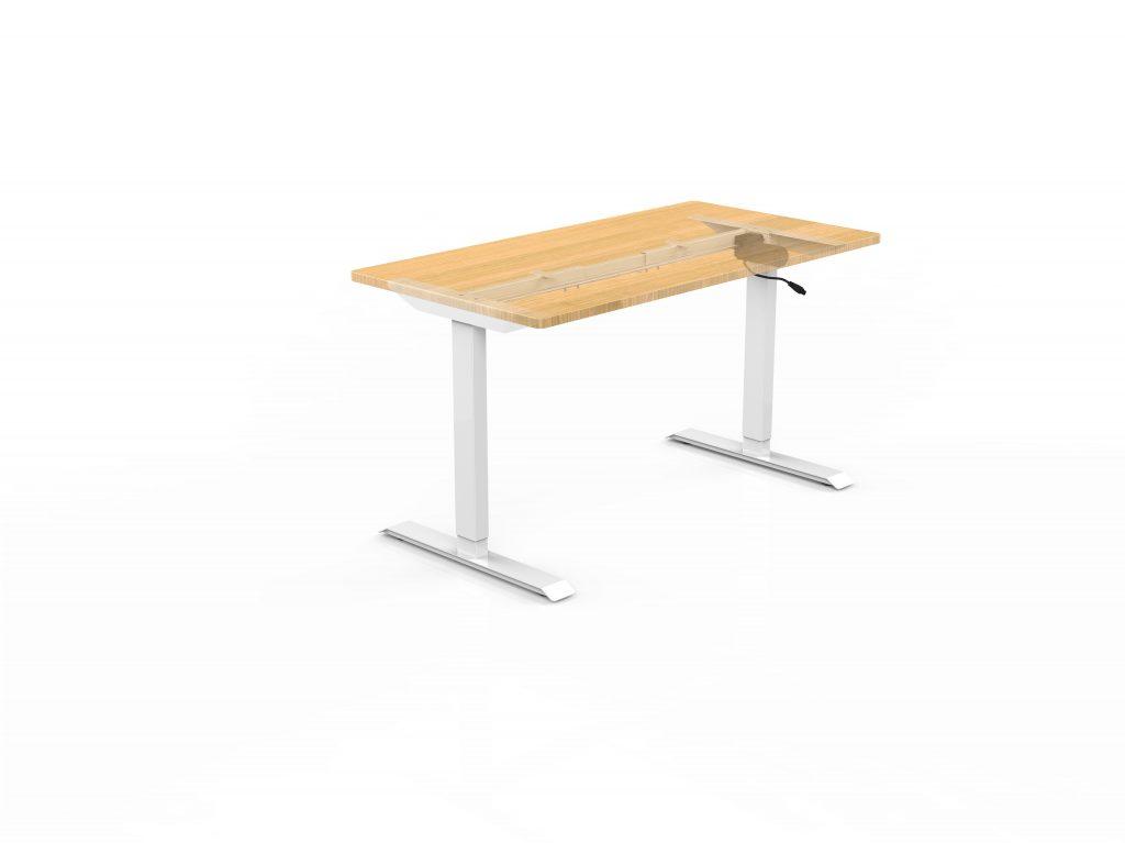 sit stand desk single motor